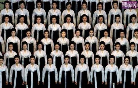 中国発!!!世界で知られていない北朝鮮の美少女たちが公開される なんか鮮やかwwwwww【画像あり】のサムネイル画像