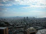 六甲の集合住宅からの眺望