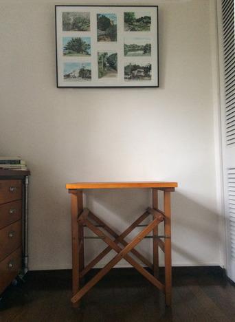 絵+テーブル