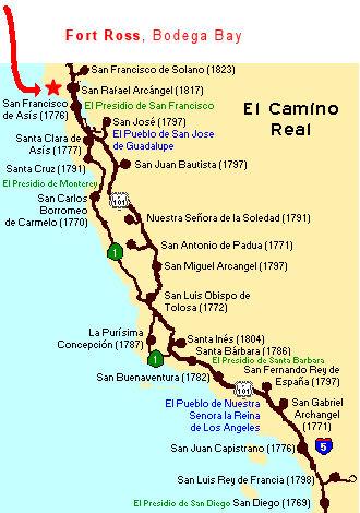 El Camino Real & Ft Ross