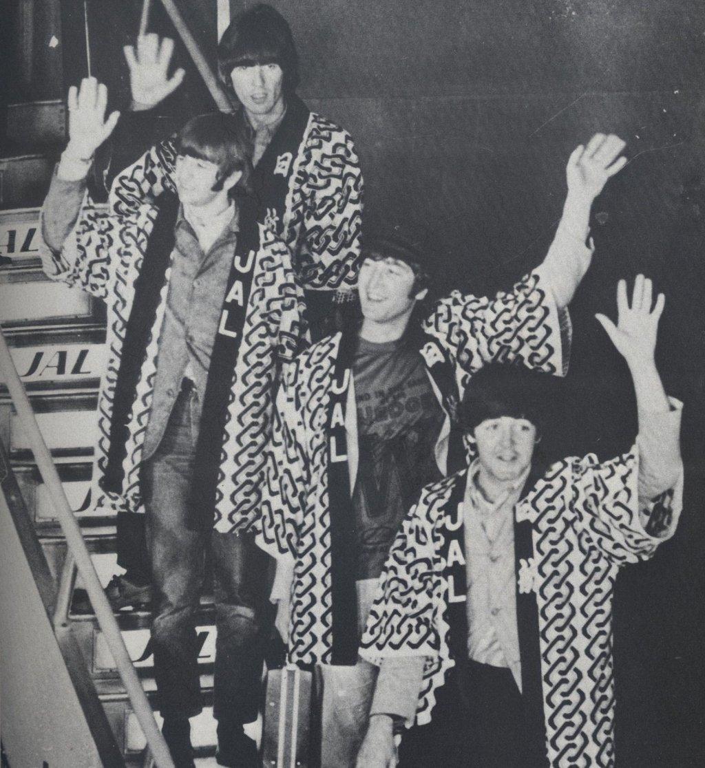 The Beatles in Japan
