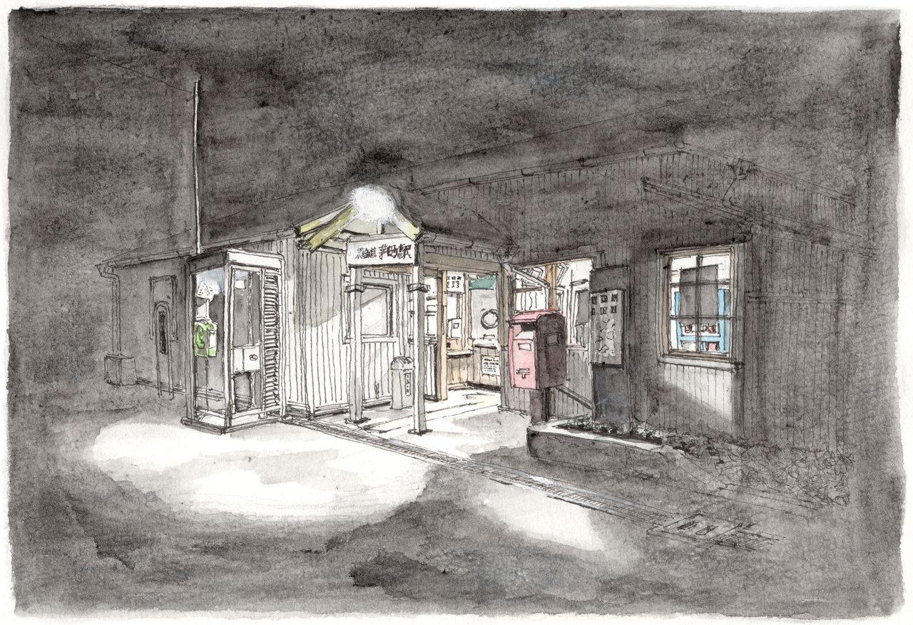 181125_10月20日午前4時上野茅町駅