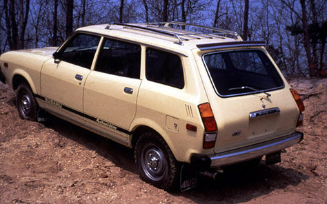 Subaru Leone Estate Van