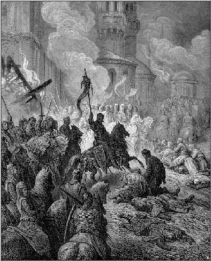 Entry of the Crusaders into Constantinople