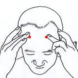 頭痛・ストレス 頭部のマッサージ1