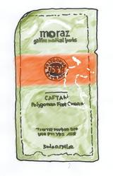 Moraz Foot Cream Sample