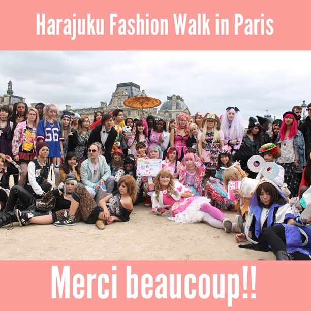 Harajuku Fashion Walk In Paris