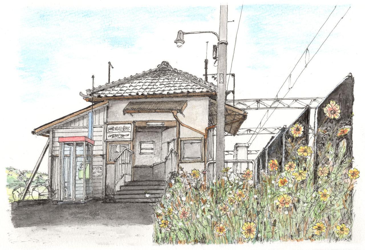 181118_伊賀鉄道猪田道駅舎