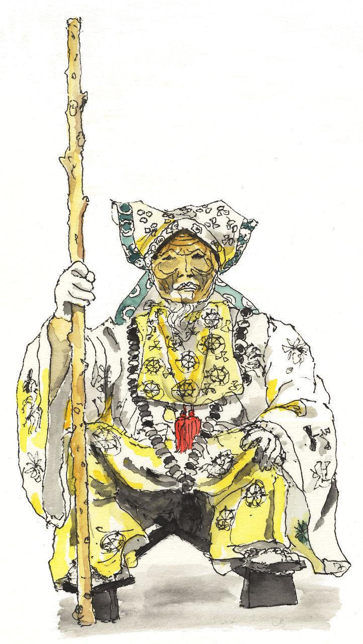 伊賀上野天神祭_翁