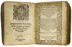 祈祷書 1596