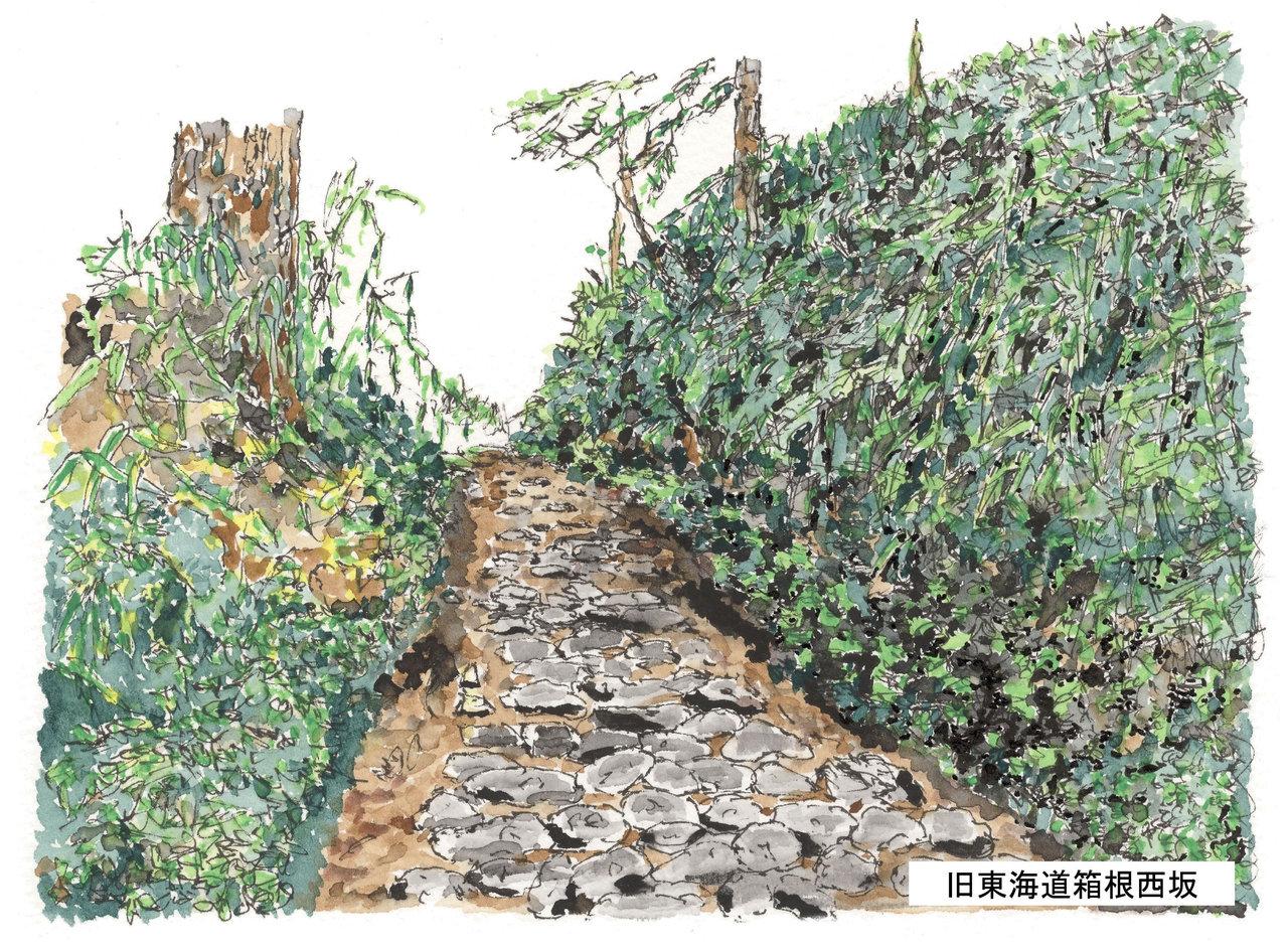 旧東海道西坂