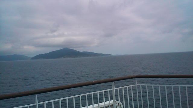 「きそ」からの海の景色