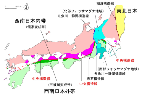 熊本地震と中央構造線…連鎖地震で崩れた伏見城1596年