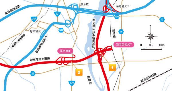圏央道 海老名JCT・厚木ICの渋滞・・・解消は新東名開通の4年後 ...