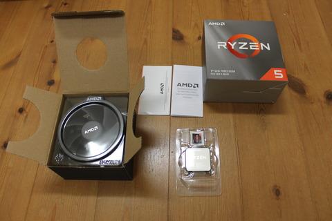 AMD Ryzen 5 3600 BOX開封