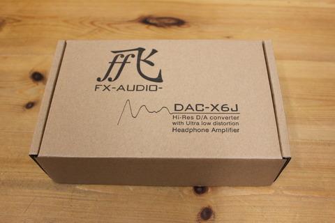 FX-AUDIO-DAC-X6J