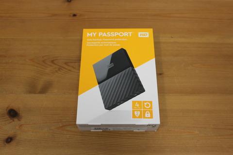 ポータブル ハードディスク 4TB My Passport
