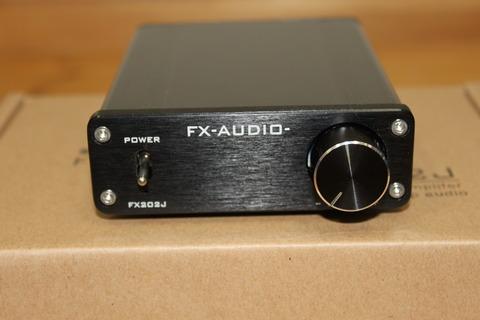 FX-AUDIO- FX202J 正面