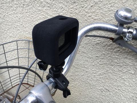 GoPro Hero7 Blackを自転車に取り付け