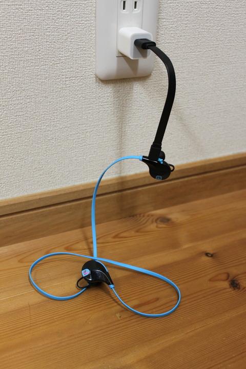 サウンドピーツ QY7  充電の仕方