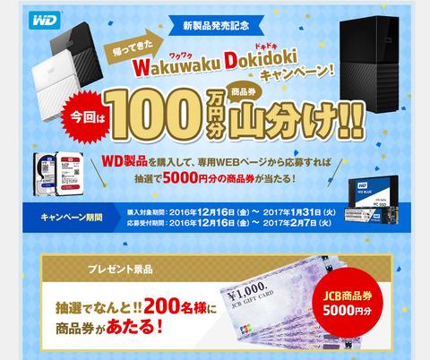 帰ってきた!WakuwakuDokidokiキャンペーン
