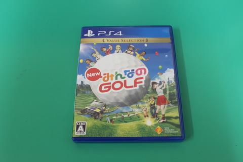 PS4 New みんなのGOLF