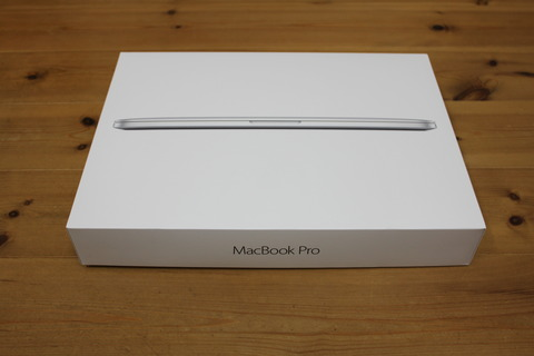 MacBook Pro Retinaディスプレイ 2700/13.3 MF840J/A
