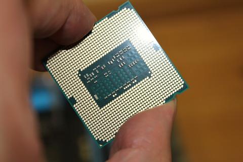 CPU Core i7 4790 裏のピン