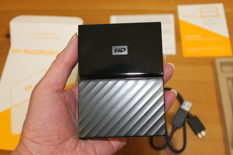 WD HDD 4TB My Passport