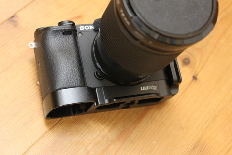 UURig Sony A6400 専用ケージ L-ブラケット装着