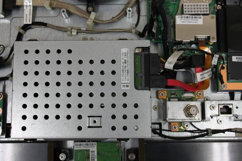 VN770/C ハードディスク取り外し