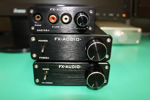 FX1002AとFX202JとDAC-X5J