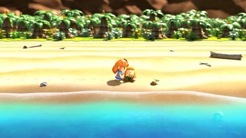 ゼルダの伝説 夢をみる島1