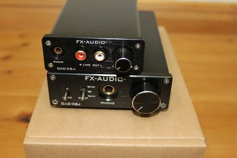 DAC-X6JとDAC-X5J