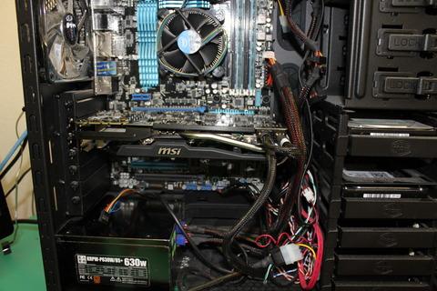 旧PCへグラボ装着