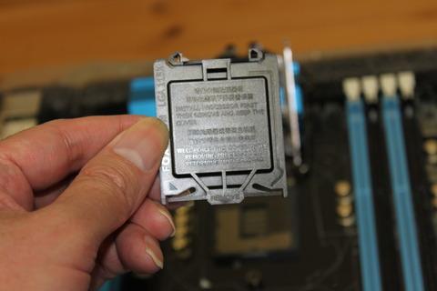 CPUソケット保護カバー
