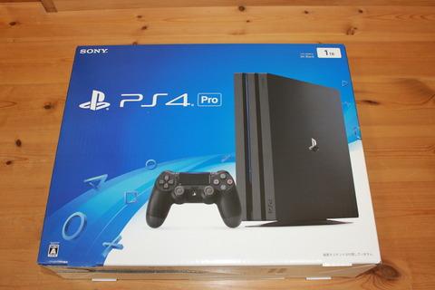 PS4 Pro 外箱