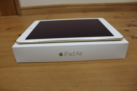 iPad Air 2 Wi-Fi Cellular 64GB ゴールド(SIMフリー版)