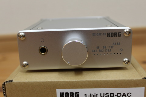 KORG DS-DAC-10 正面