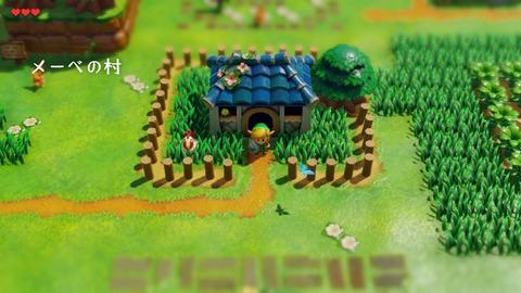 ゼルダの伝説 夢をみる島 メーベの村