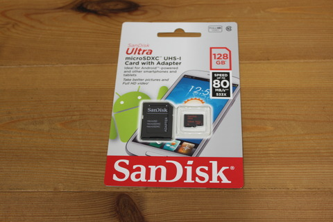 microSDXC 128GB SanDisk