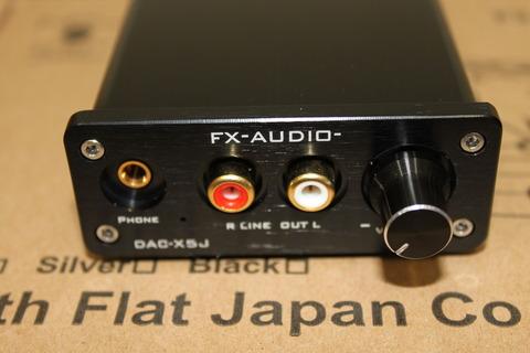 FX-AUDIO DAC-X5J 正面