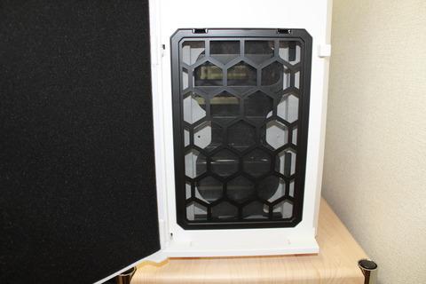 PCケースP280WhiteWindow フロント