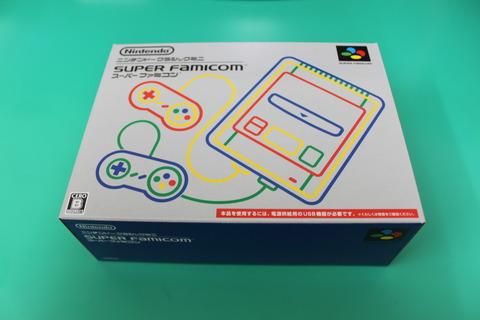 ニンテンドークラシックミニ スーパーファミコン 箱