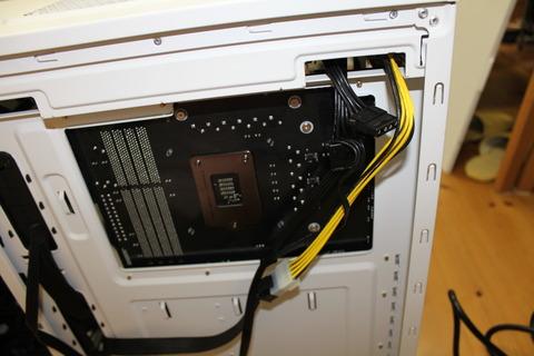 PCケース裏側配線