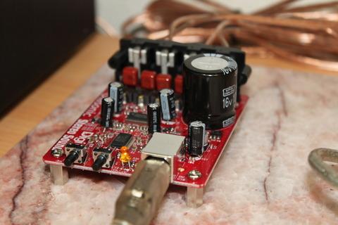 USBDAC付きアンプ