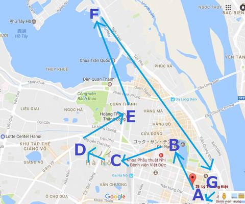 無料バス地図