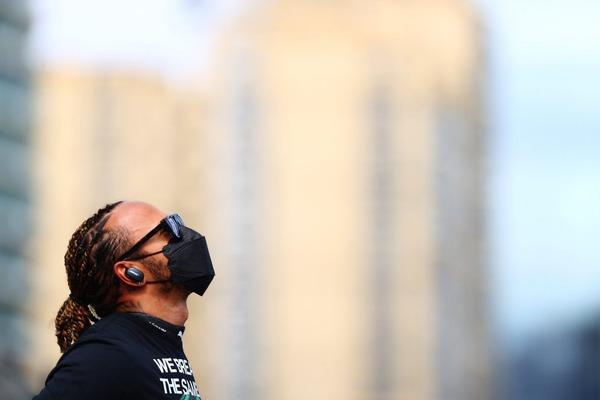 ルイス・ハミルトン(メルセデス):2021年F1アゼルバイジャンGP