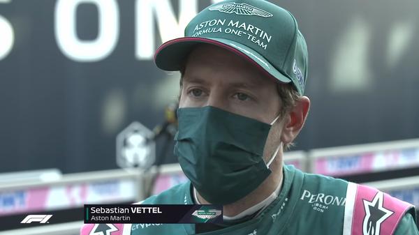 セバスチャン・ベッテル(アストンマーティン)2021年F1イタリアGP決勝コメント