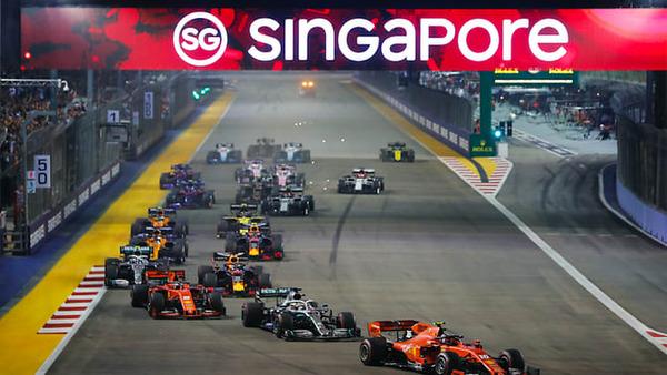 F1シンガポールGPはナイトレース